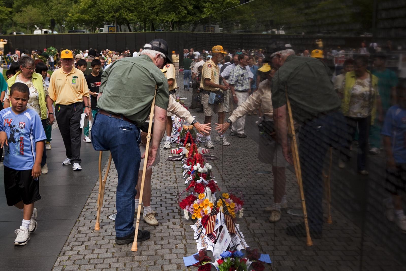 Memorial Day,Vietnam Veterans Memorial.