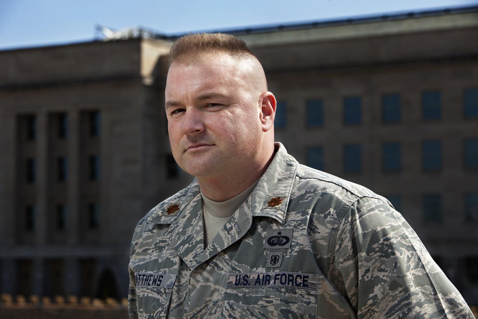 Major John Matthews, the Pentagon.