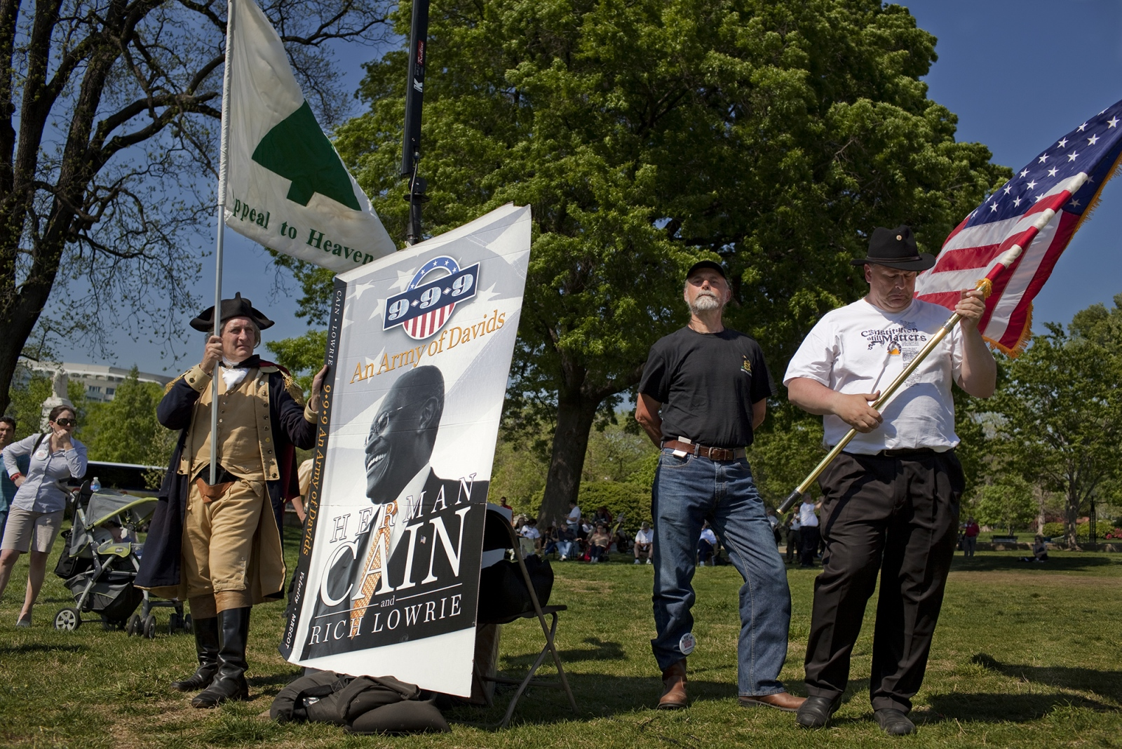 Herman Cain rally,D.C.