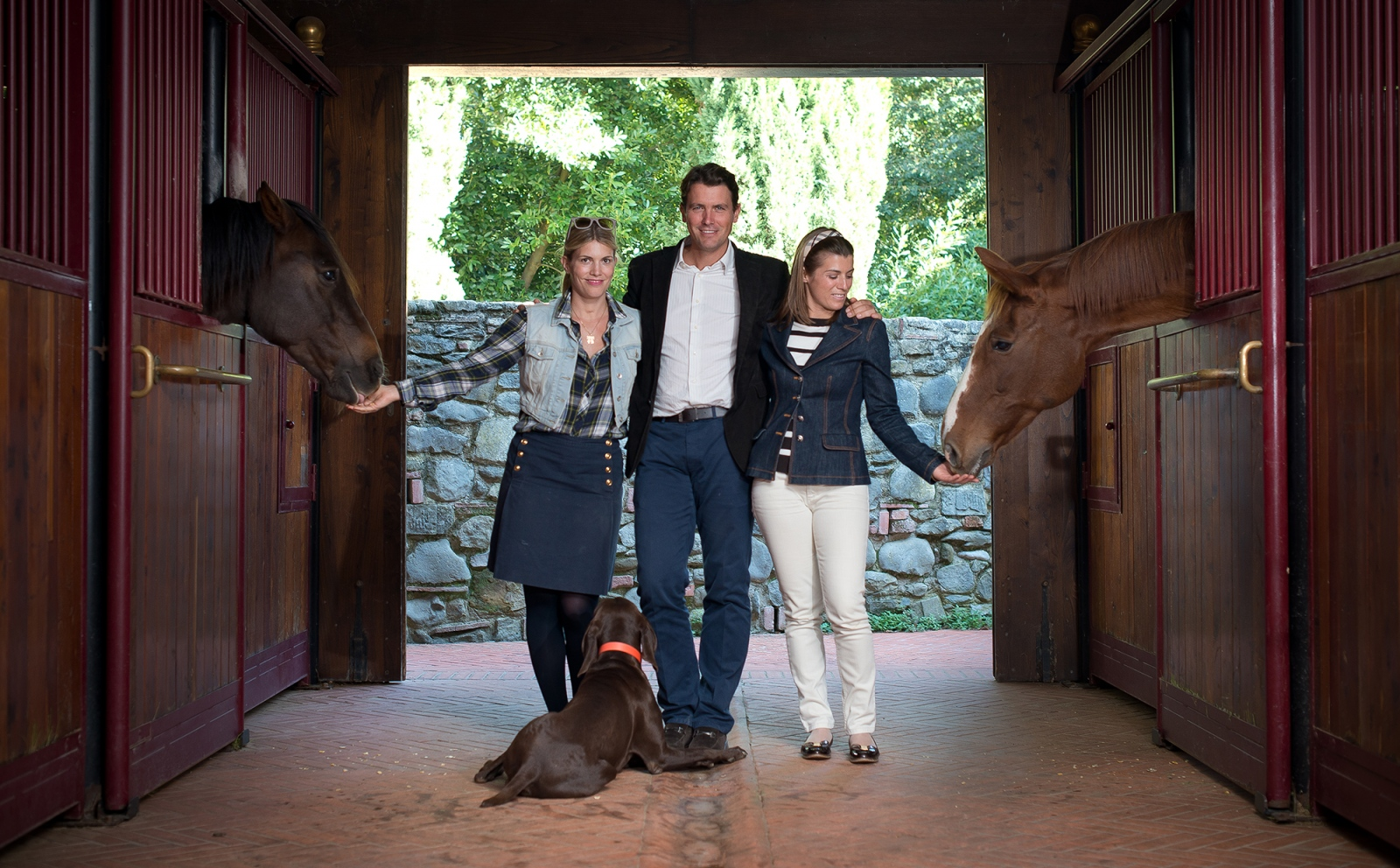 The Ferragamo Family for Equestrio Magazine