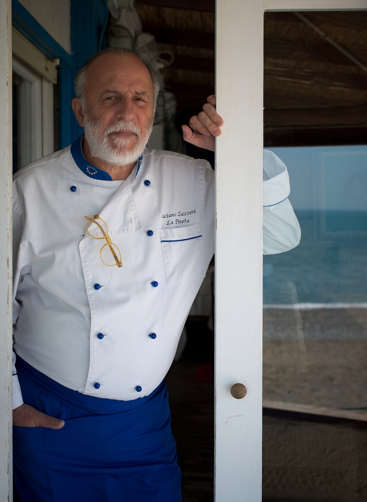 The chef Luciano Zazzeri