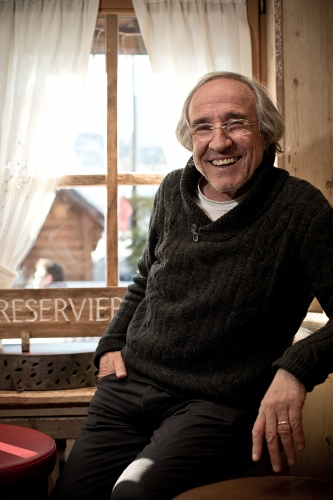 The owner of the dolomites restaurant and club Moritzino, Moritz Crazzolara