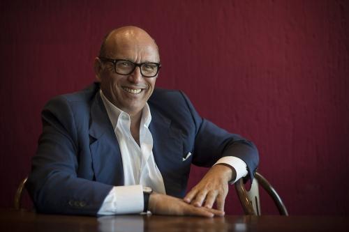 The CEO of Ca'Del Bosco, Maurizio Zanella