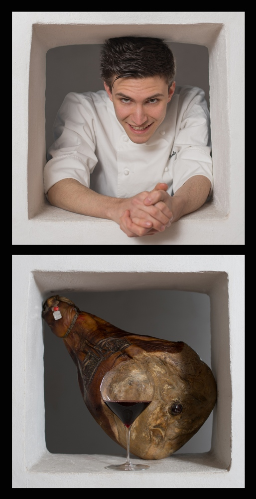the young chef Paolo Griffa shooted for Associazione Maestro Martino - 2014