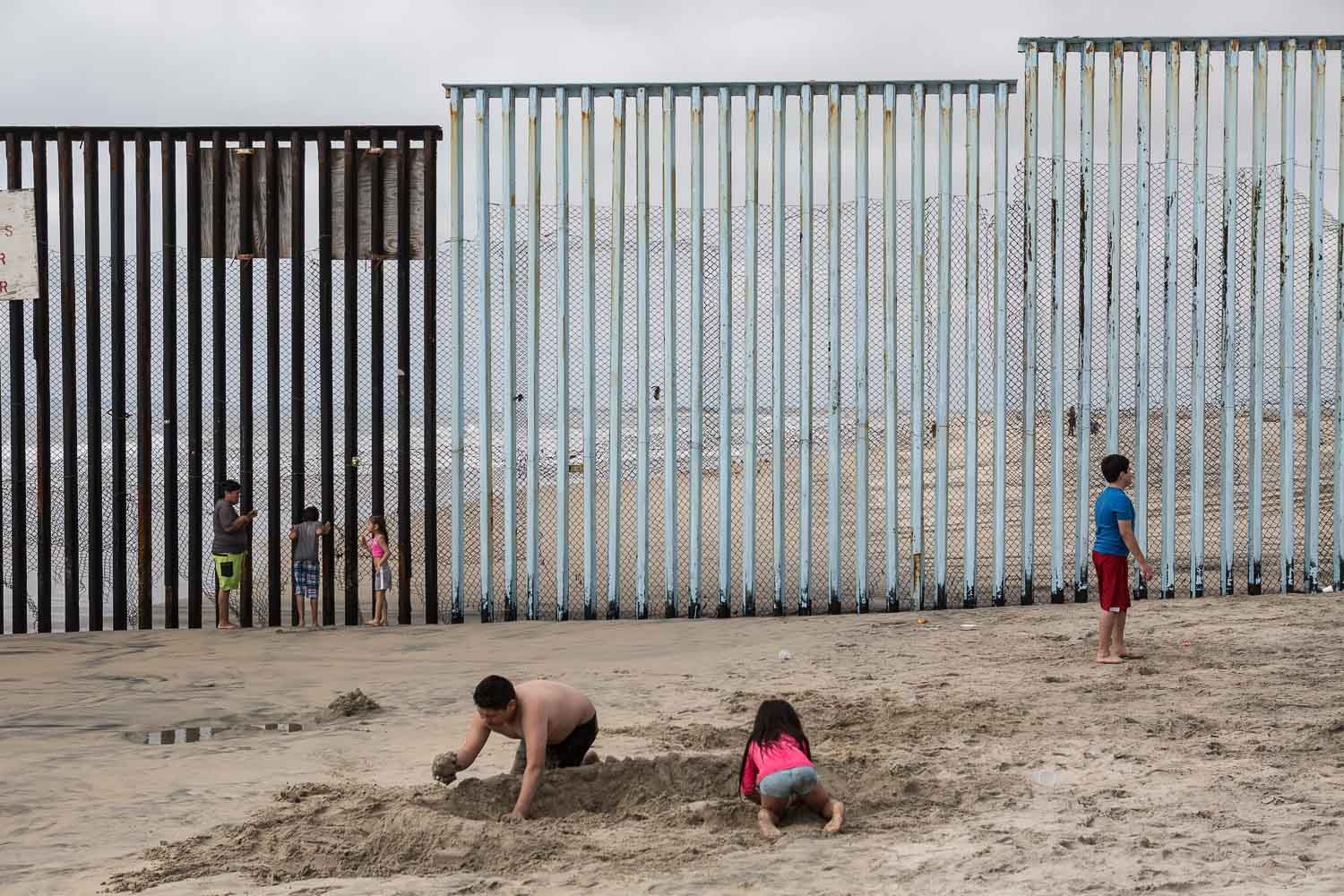 We will raise our children in cages. USA-Mexico...