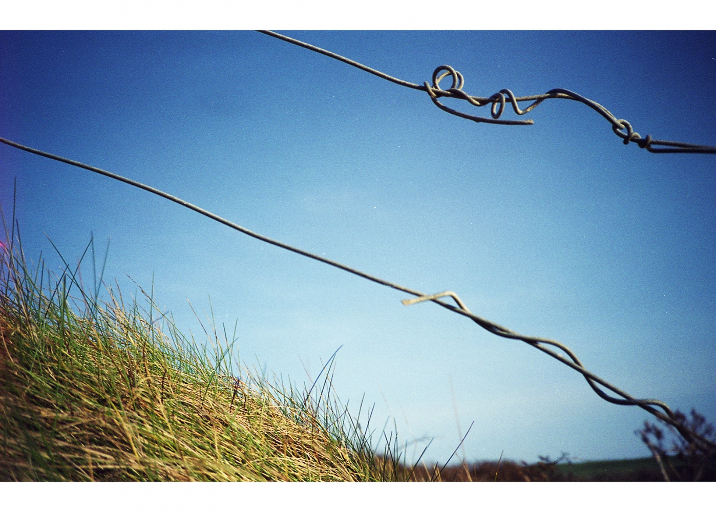 Wires on the Edge of a Field