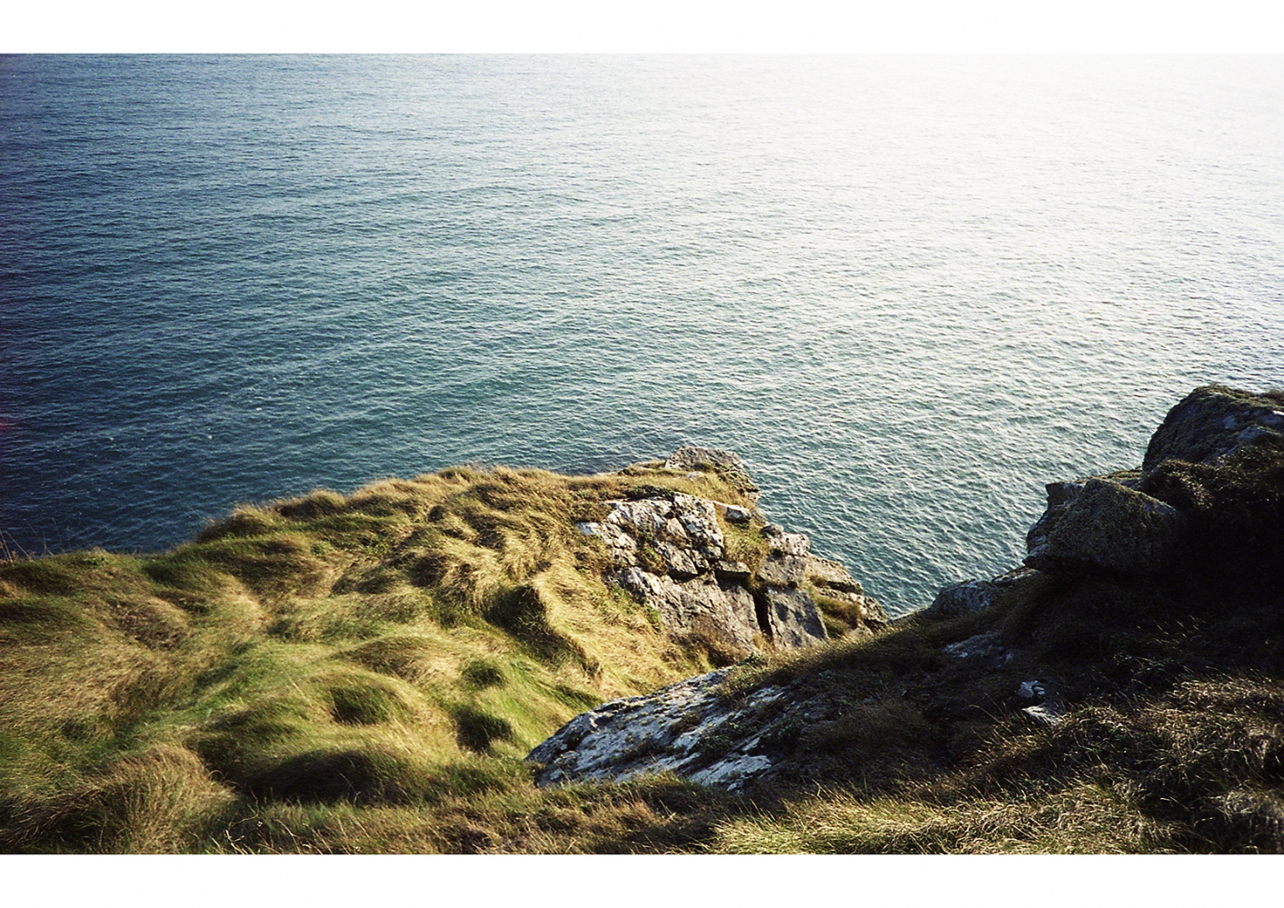 Near the Edge of a Cliff