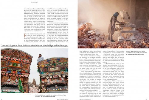 Client: mare magazine - Germany  Published: June 2017