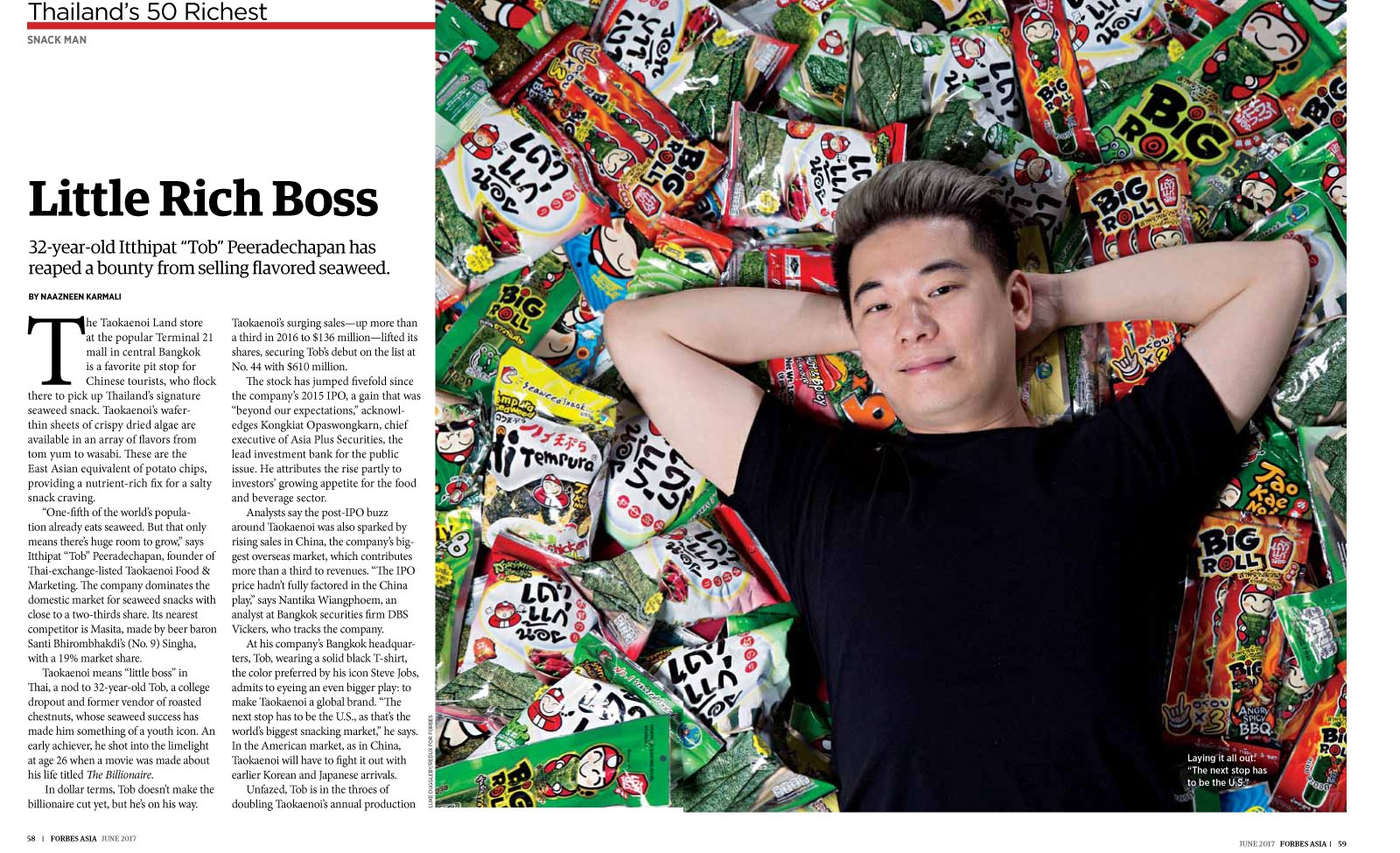 Forbes Asia Magazine - June 2017