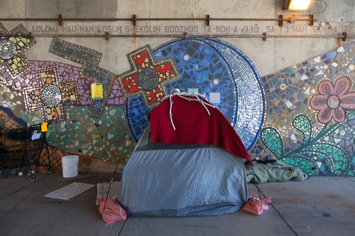 Tent City - Photography project by Suzette Bross