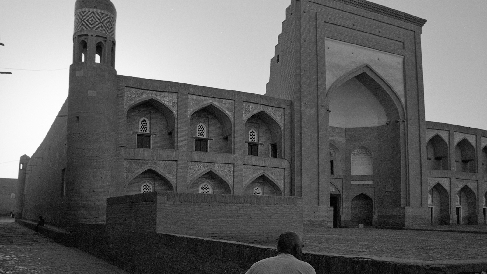 Khiva after tourists depart