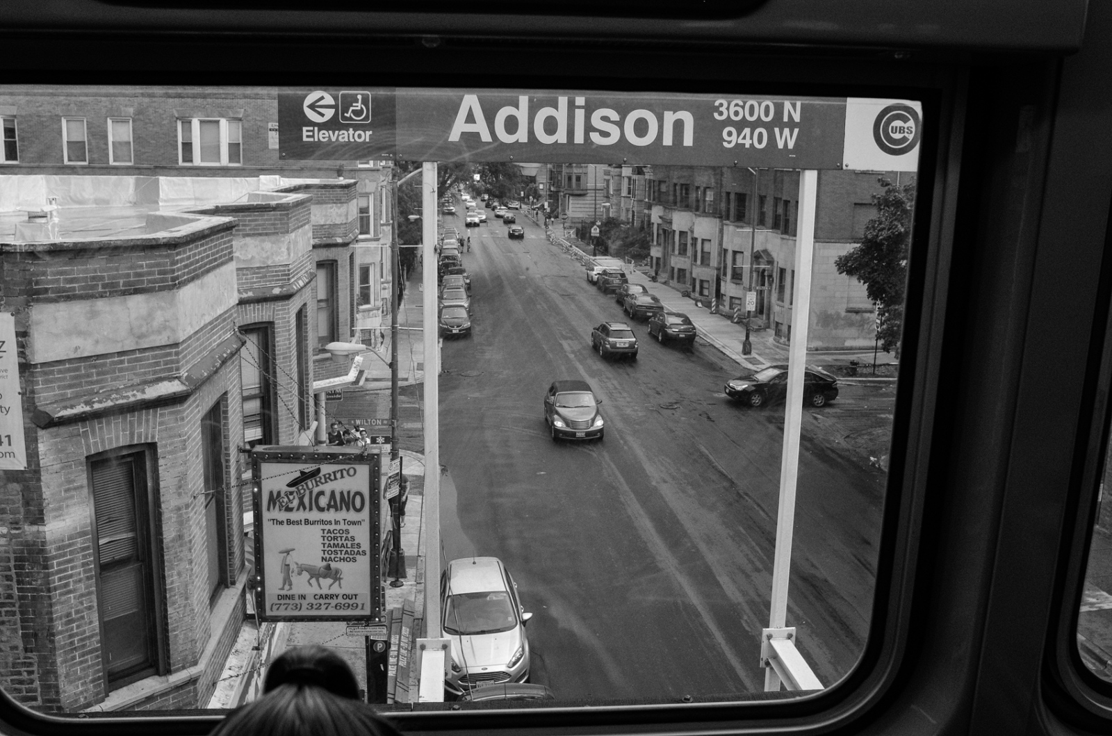 Red Line at Addison, Chicago 2017