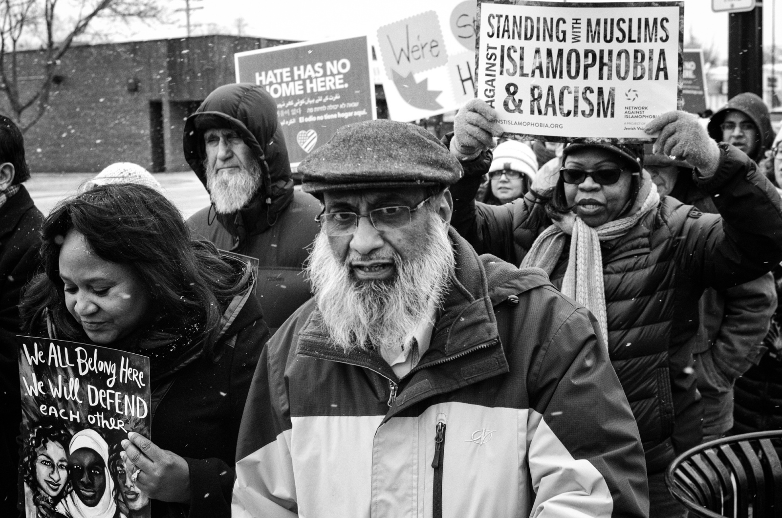 Art and Documentary Photography - Loading March_for_Diversity_Rally__Dempster_St.__Morton_Grove_2017.jpg