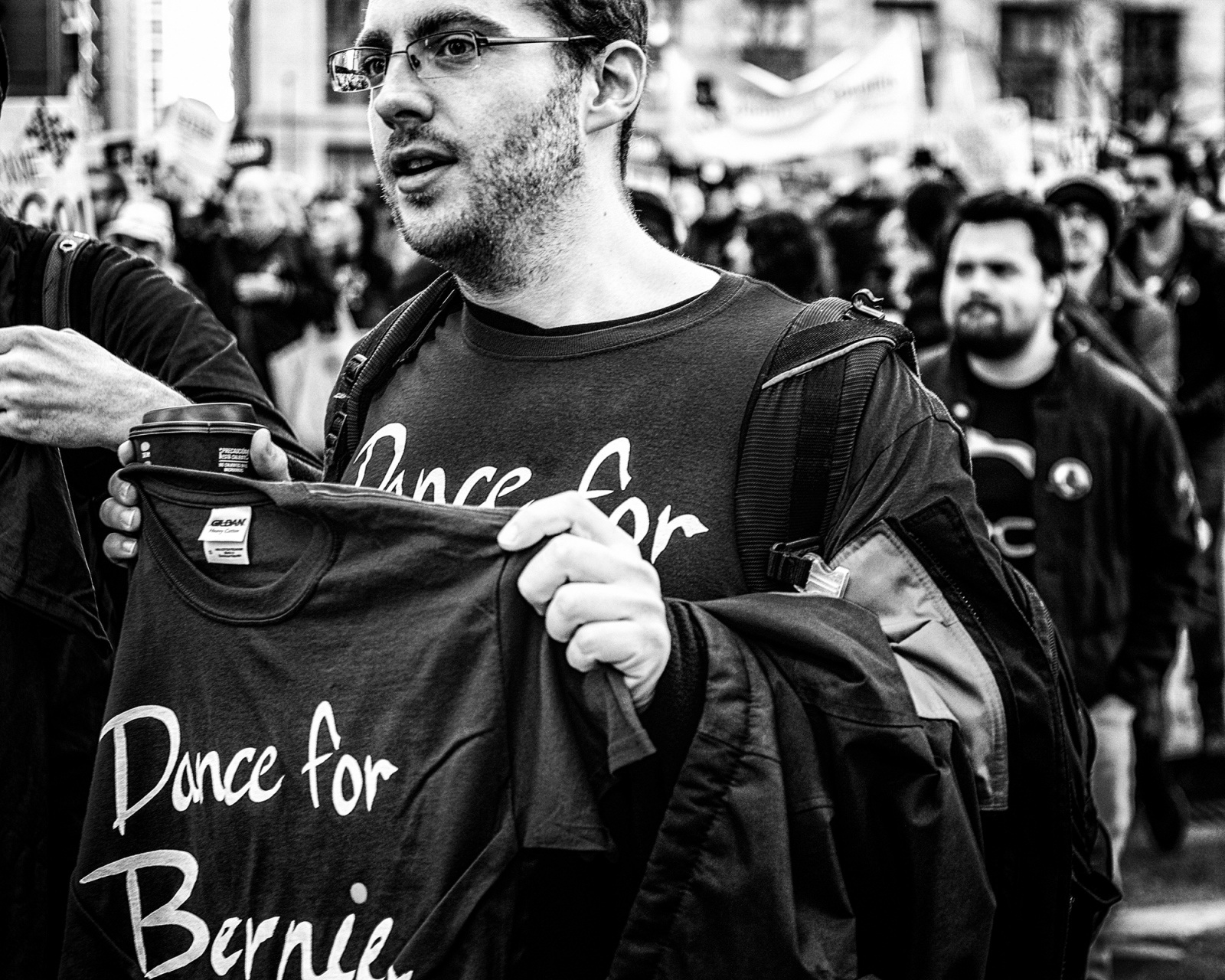 Dance for Bernie, Bernie Sanders Rally, Chicago 2016