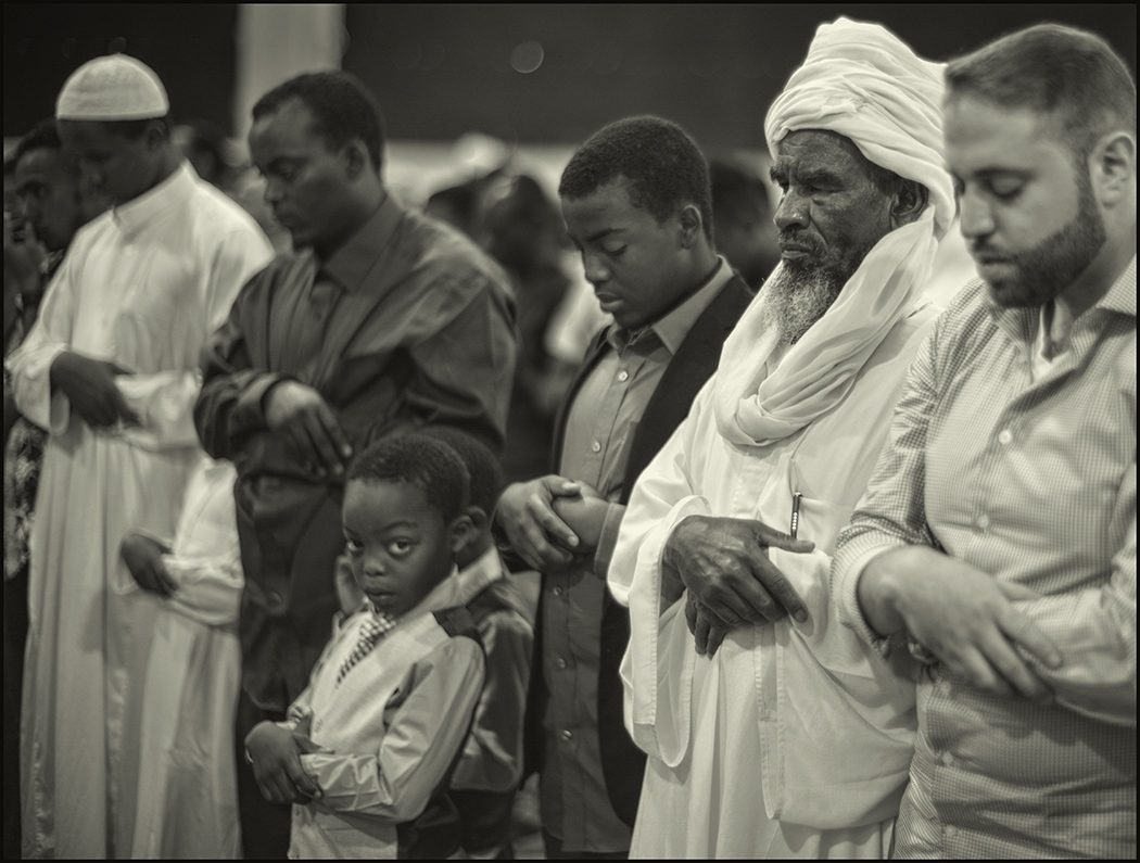 EId al-Fitr, prayers, End of Ramadan, Arizona, June 2017.