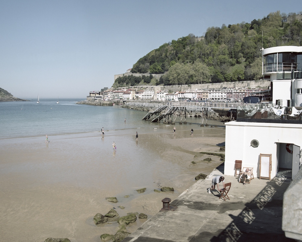 Spain, San Sebastian. A view of the seaside of the Basque city. The region has been the house of ETA, an indipendentist armed political group. In 2007 the ETA and the Spanish Government reached an agreement on the disarmetion of the group.