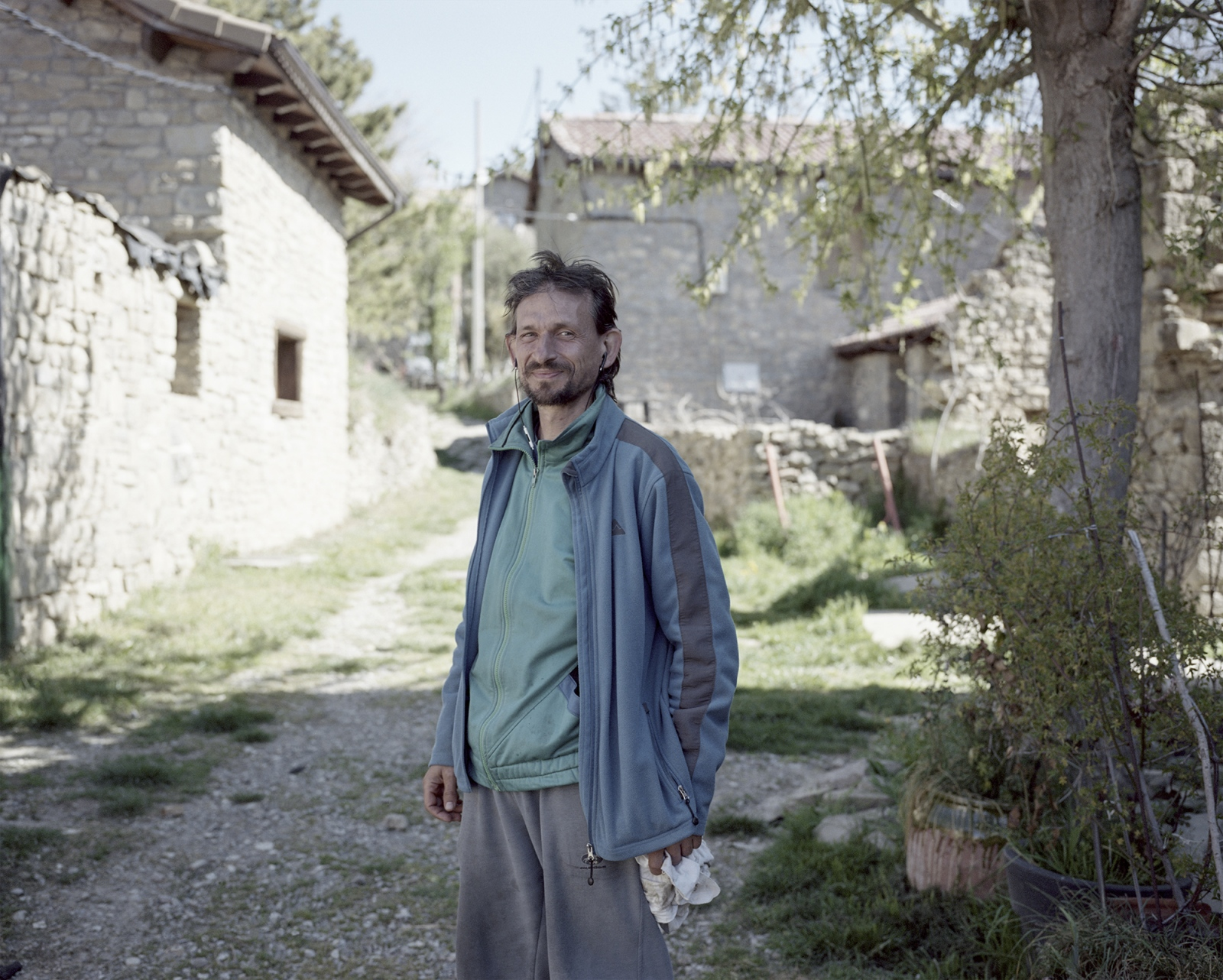 Spain, Ibort. Marco is an Italian that moved to Ibort. The village was completely uninhabited until a group of persons occupied and rebuilt some of the houses. Today the village is composed by an intercultural and international community.