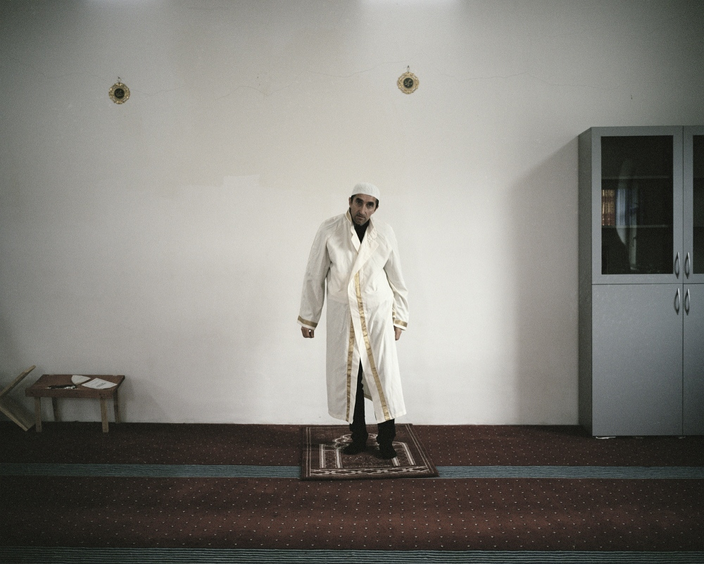 Romania, Dobromir. Local Mufti. Dobromir is the only Romanian village with the 90% of muslin.