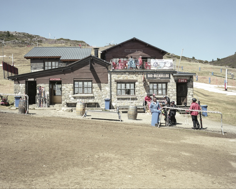 Spain, Candanchu. A view of a ski resort. According to the European Environment Agency, Europe's mountain regions may suffer some of the most severe impacts of climate change. Increasing temperatures can change snow-cover patterns and lead to water shortages and other problems such as reduced ski tourism.
