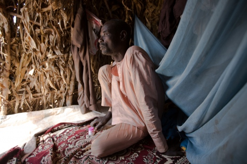 """When Boko Haram came to Gwoza they were killing everybody. I escaped at night. Twelve members of my family are missing. I don't know where they are."" Ahmadu, 46, a farmer who has been living in Daware settlement in Fufore, Adamawa state. November, 2014."