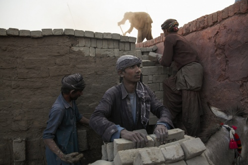 A major industry that enslaves thousands of people are the brick kilns. The work is hard and dangerous and millions will work in such conditions for years without any pay.  Sindh - Pakistan