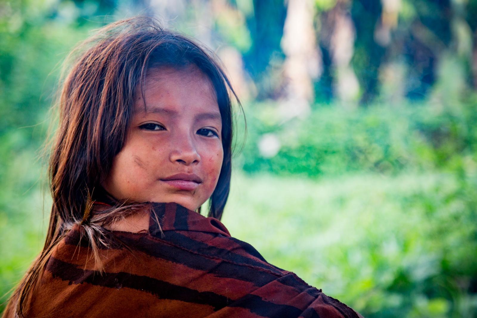 Ashéninka Girl. Nueva Eden, Peru.