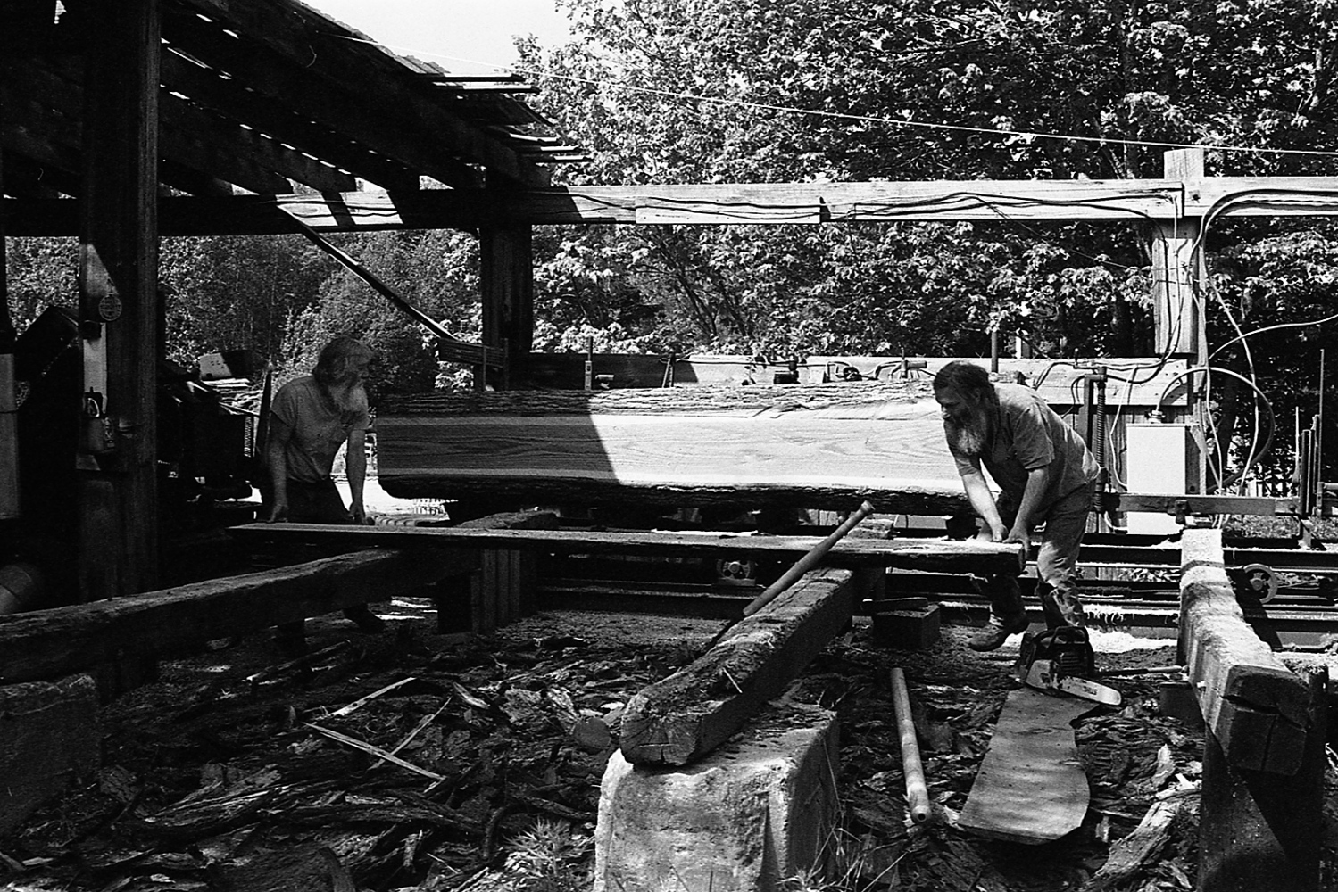 Art and Documentary Photography - Loading bob_congdon_and_mike_evankow__sawing_oak_lymect_19.jpg