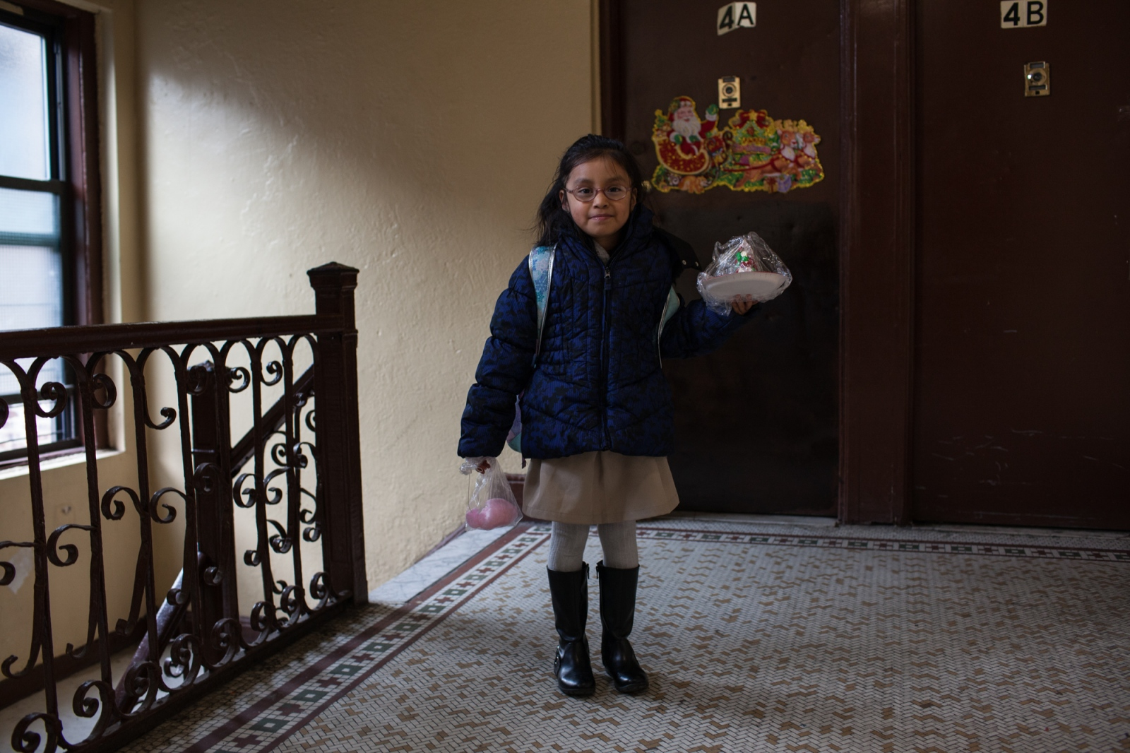 Yaleiny, is the oldest daughter of Zenaida, and likes to read books in Spanish and English. Her mother also teaches her to speak her language, the Tlapaneco, because her grandparents do not speak Spanish. Bronx, NY