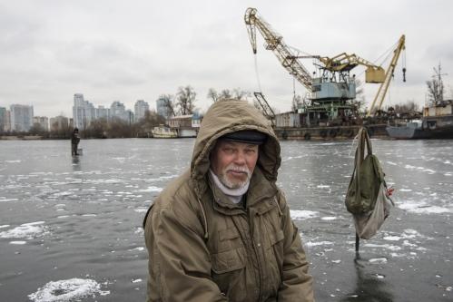 Seeking ice anglers