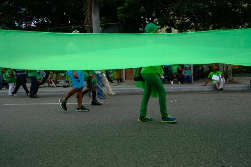 Una Mirada a la Marcha Verde del 16 de Julio de 2017 en Santo Domingo, Distrito Nacional.