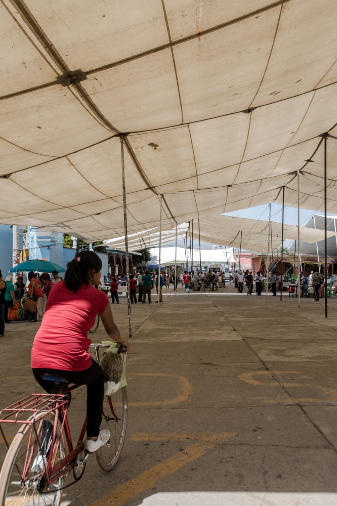 May, 2017. Los Reyes Tlanechicolpan. The fair lasted three days were the farmers sold their goods to people arriving mostly from the city of Puebla.