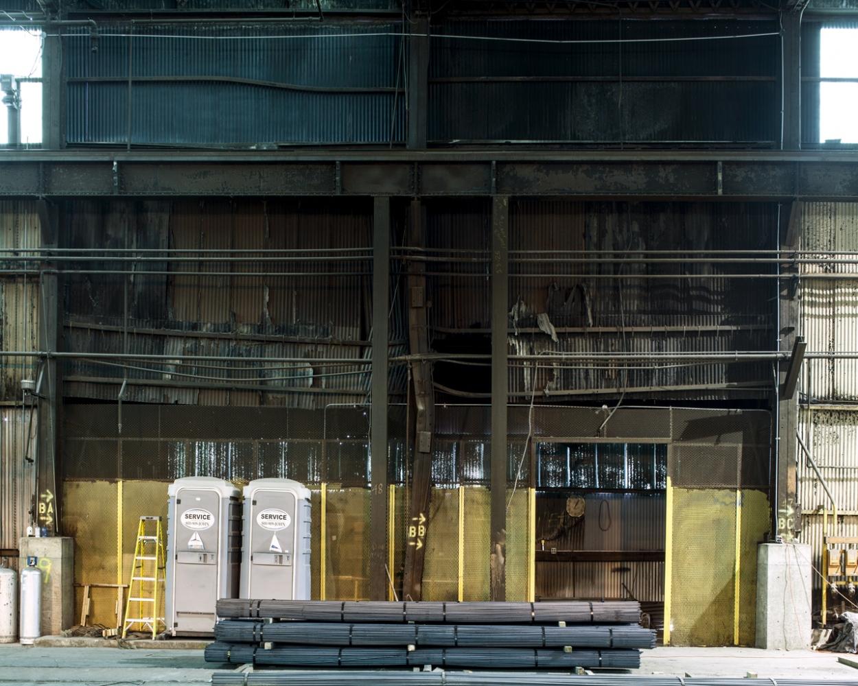Re-Bar & Porta Johns (MWS), Hammond, IN 2013