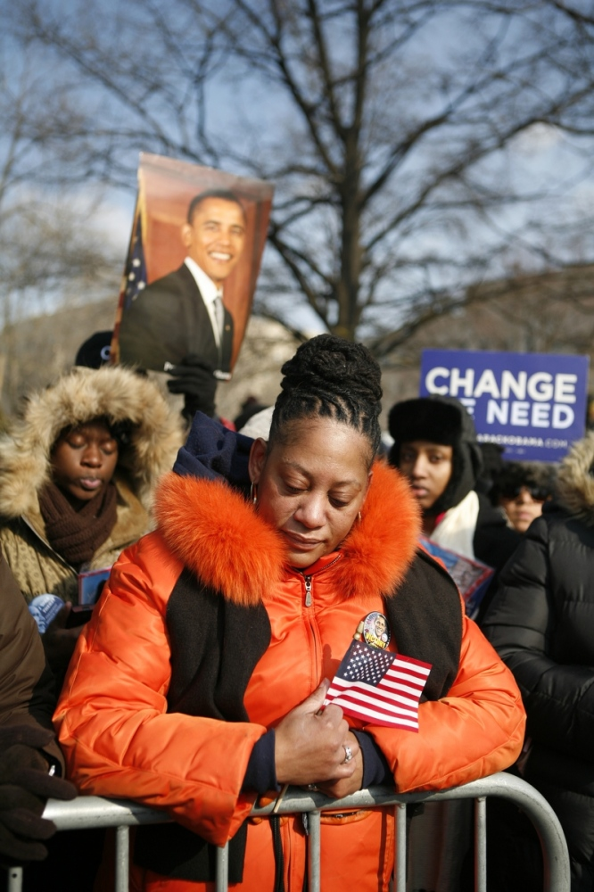 Obama's Inauguration. 2009 (Photo by...