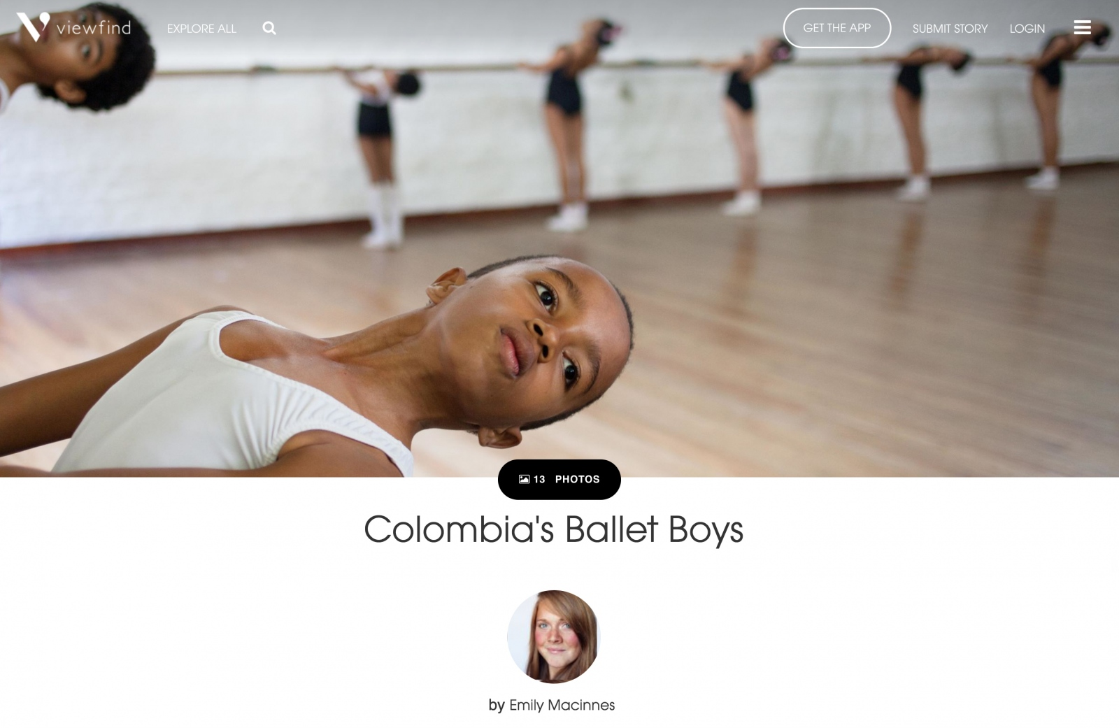 """Columbia's Ballet Boys"" by Emily Maccines"