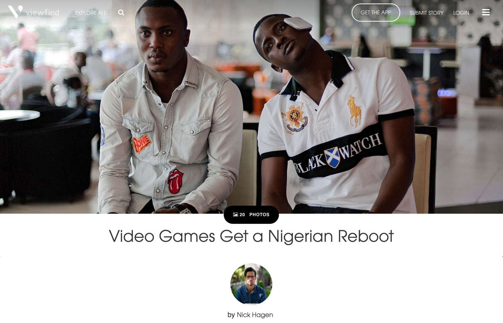 """Video Games Get a Nigerian Reboot"" by Nick Hagen"