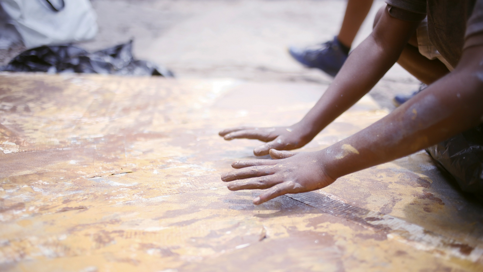 Art and Documentary Photography - Loading Hands.jpg