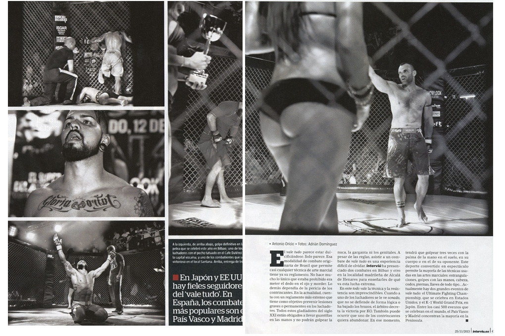 Gladiators for Interviú (Spain) 6 pages