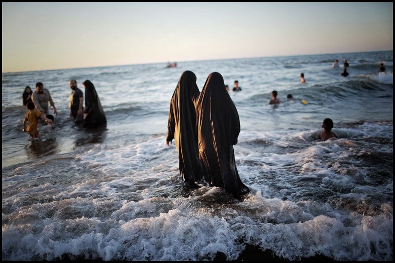 Daily life_ caspian sea /iran 7 Aug 2017
