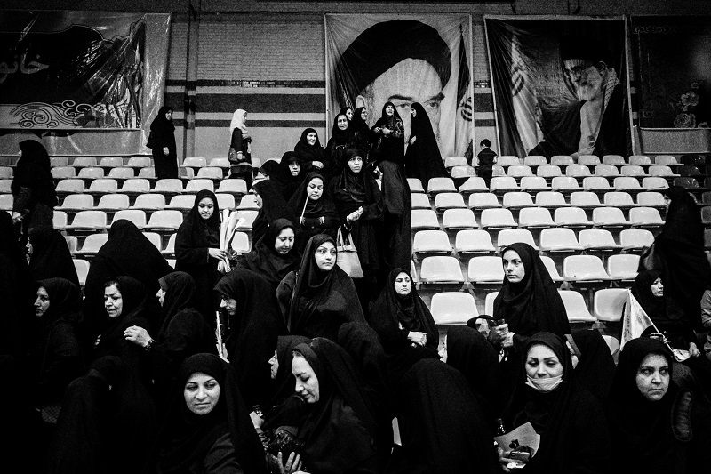 Photography image - Day of hijab in Iran /Tehran _ June 2017