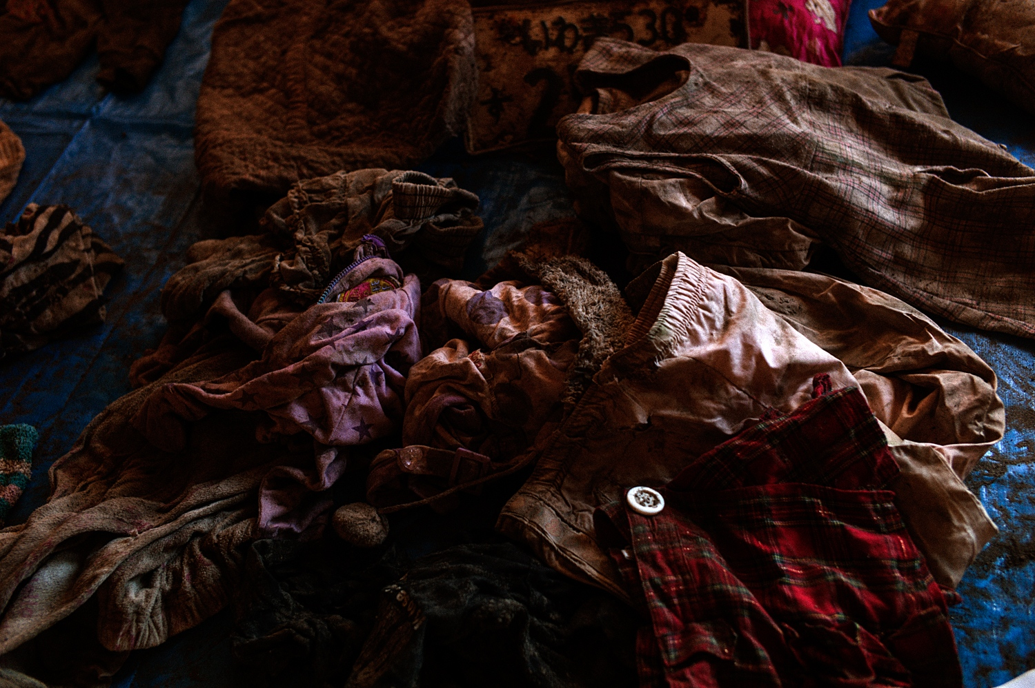 Cllothes belong to Yuna Kimura(age 7 at the time), whom swept away by tsunami on March 11, 2011. Only partial remain has been found as of August 2017.