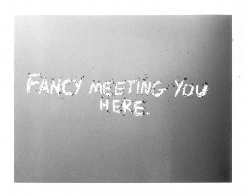 Fancy Meeting You Here
