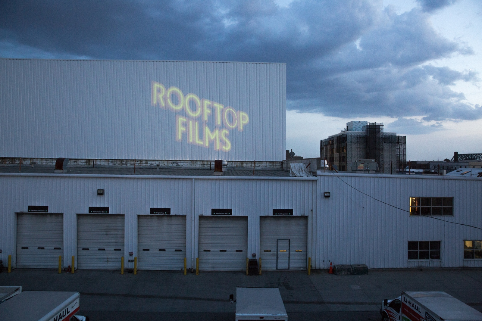 (2017)  Rooftop Films is a non-profit organization based in New York City whose mission is to engage and inspire diverse communities by showing movies in outdoor locations, helping filmmakers to produce new films, and renting equipment at low-cost to artists and non-profits.