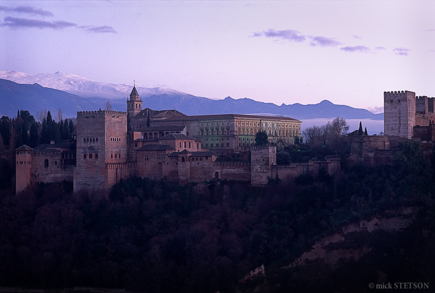 "The Alhambra, translated as the ""red..."