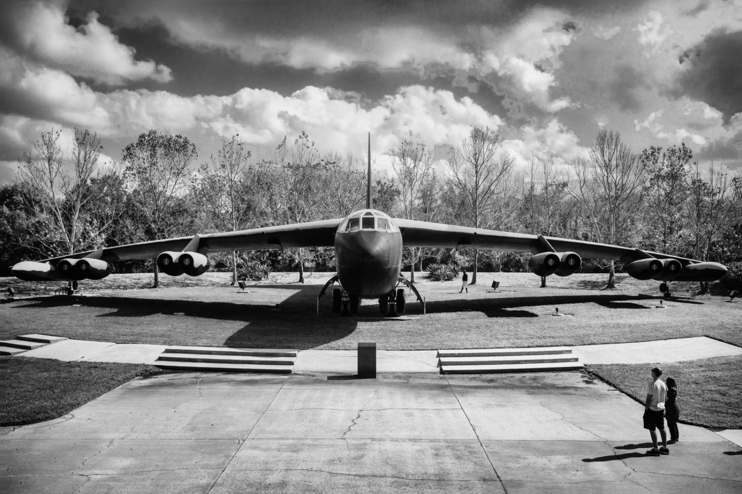 B-52 Memorial Park Boeing B-52 Statofortress Strategic bomber
