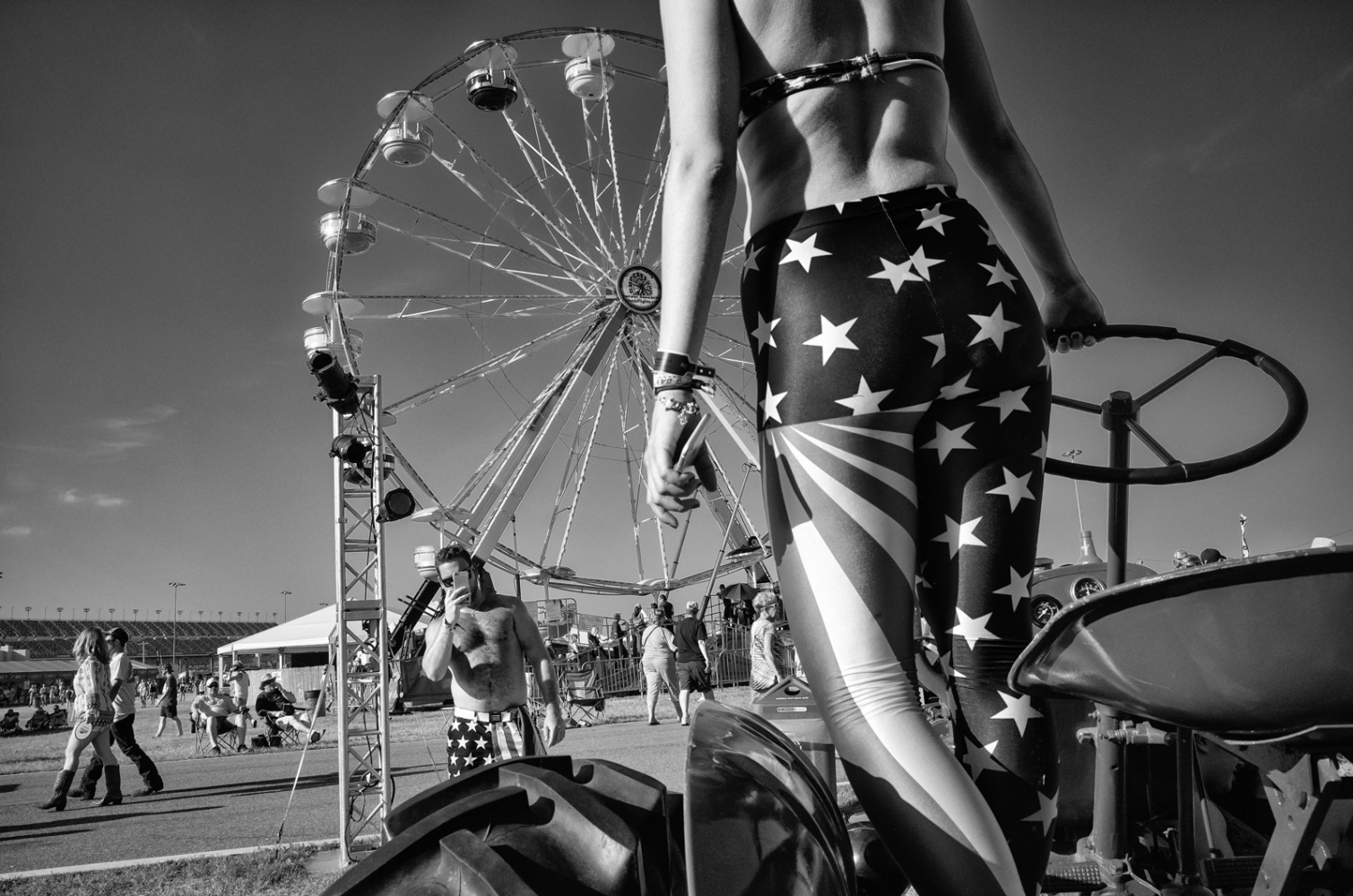 American Flag Fashions Country 500 music festival, Daytona International Speedway, Daytona Florida