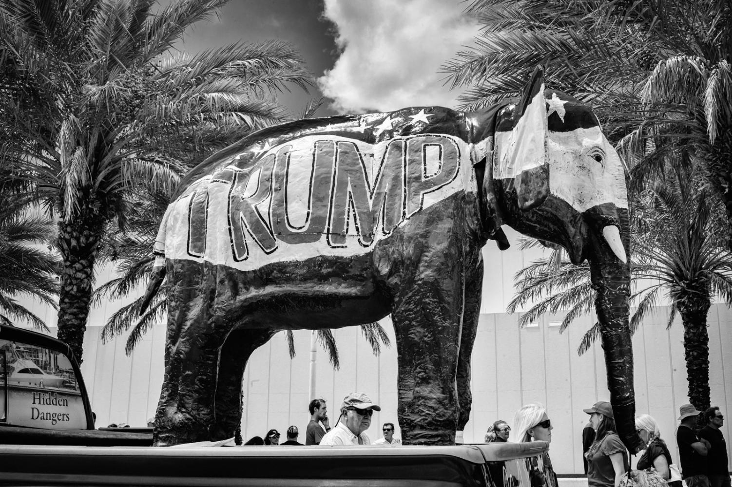 Trump Elephant Home made Trump Elephant, Daytona Beach