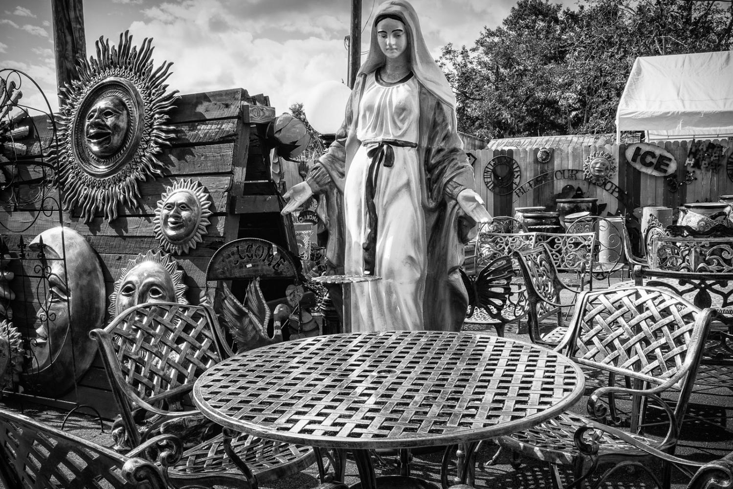 Mother Mary Yard Art Market, US 40 at SR17, Florida