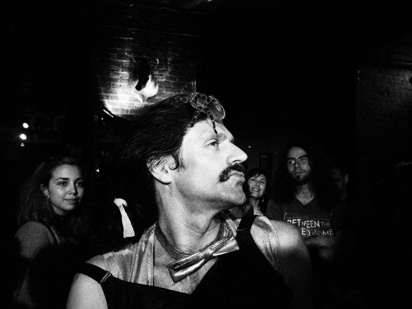 Photography image - Fritz and a Tarantula at the Circus of Dreams. Bushwick