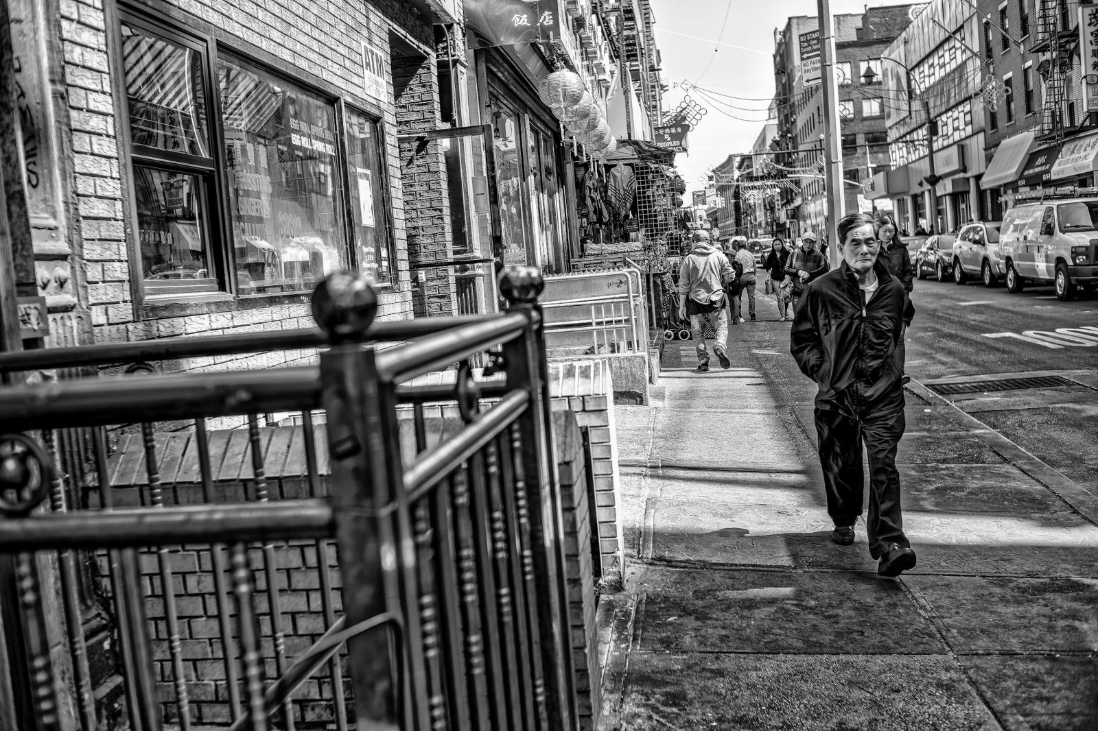 Street photography - nyc Chinatown 2016