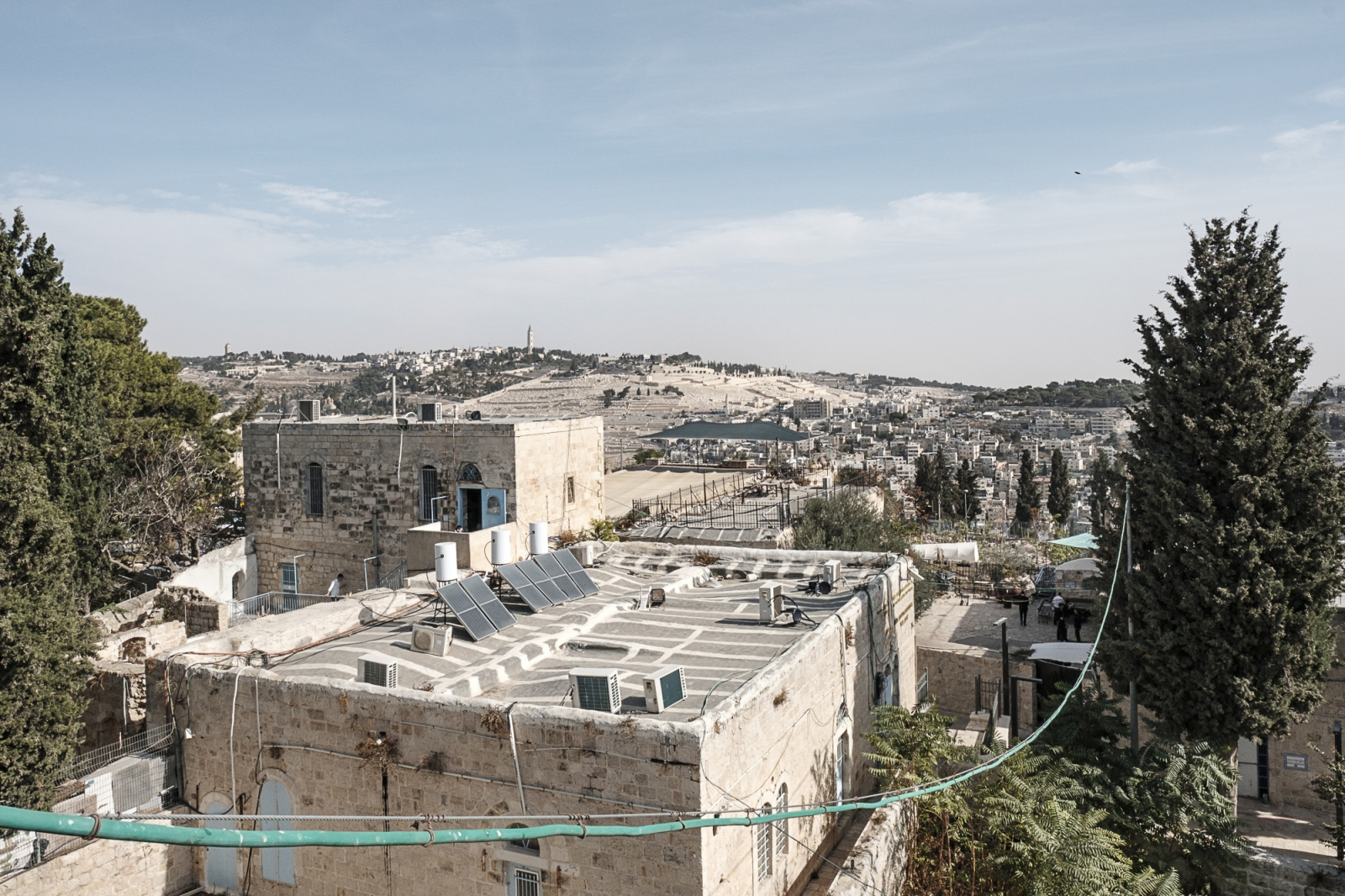 Looking at the Mount of Olives, Jerusalem